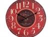 red-rustic-clock